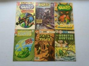Charlton Horror comic lot 11 different issues avg 4.0 VG