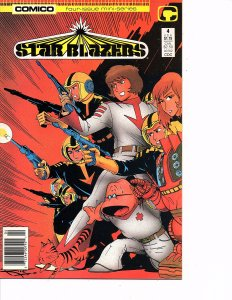 Comico Comics (Vol. 1) Star Blazers #4 Last Issue Derek Wildstar Nova