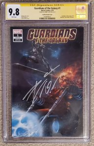 Guardians of the Galaxy #1 Parillo 9.8 signed by Don Cotes - CSS