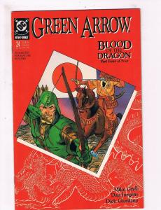 Green Arrow # 24 VF/NM DC Comic Books Blood Of The Dragon Pt.4 Shado HIT TV! SW8