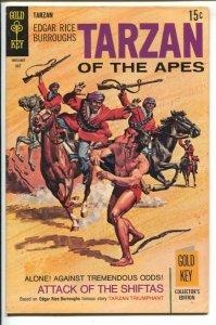 Tarzan #185 1969-Gold Key-Edgar Rice Burroughs-Tarzan The Triumphant-Doug Wil...
