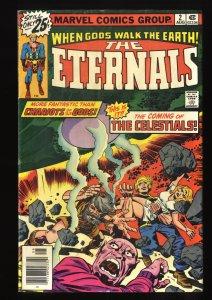 Eternals #2 VG 4.0 1st Ajak Arishem and the Celestials!