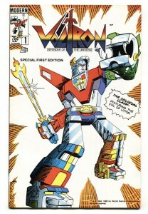 Voltron #1 1985-Modern First issue-comic book VF/NM