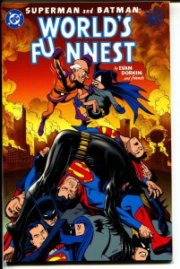 Superman & Batman: The World's Funnest-Evan Dorkin-TPB-trade