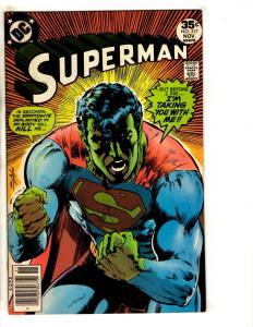 Superman # 317 FN/VF DC Comic Book Neal Adams Cover Batman Flash Arrow Atom JG9