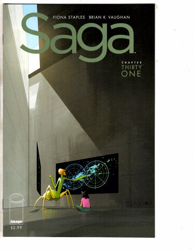 Saga # 31 NM 1st Print Image Comic Book Fiona Staples Brian K. Vaughan J237
