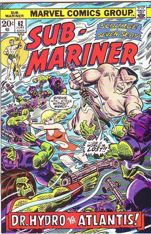 Sub-Mariner #62 (Jun-73) NM- High-Grade Sub-Mariner (Prince Namor)