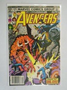 Avengers #226 Newsstand edition 4.0 VG (1982 1st Series)