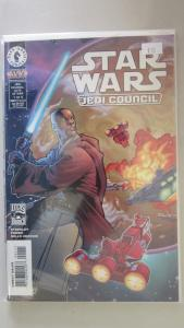 Star Wars Jedi Council #1 to #4 whole set - VF - 2000