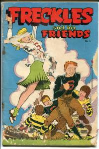 Freckles and His Friends #5 194-football-cheerleader-swimsuit-PR/FR
