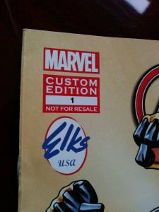AVENGERS NEVER ALONE 1 RARE GIVEAWAY PROMO ELKS 2014 MARVEL CUSTOM EDITION