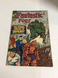 Fantastic Four 58 Vg Very Good 4.0 Marvel Comics Silver Age
