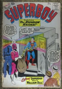 SUPERBOY #84 (DC, 10/1964) FAIR (FR) Rainbow Raider, Jerry Siegel, George Papp