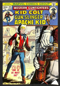 Western Gunfighters #20 (1974)