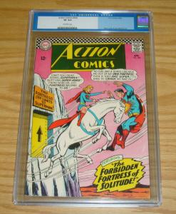 Action Comics #336 CGC 8.0 superman - supergirl - super-horse silver age 1966 DC