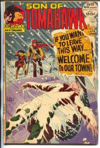 Tomahawk  #139 1972-DC-Son of Tomahawk-Kubert-Frazetta-Civil War-VF-