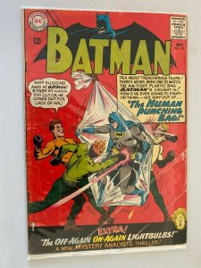 Batman #174 2.0 GD tape on inside of front cover (1965)