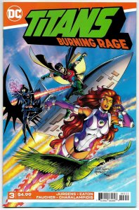 Titans Burning Rage #3 (DC, 2019) NM