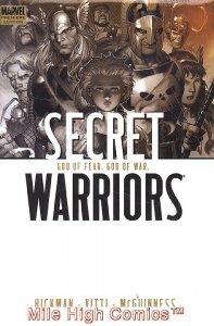 SECRET WARRIORS VOL. 2: GOD OF FEAR, GOD OF WAR HC (2010 Series) #1 Near Mint