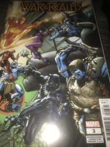 The War of Realms #3 Mint International Variant  Hot