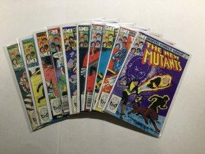 New Mutants 1-100 62 Issue Lot Run Set Very Fine/Near Mint Vf/Nm 9.0 Marvel
