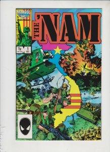 THE NAM V1 #'s1-4 1986 MARVEL / 25 ANNIVERSARY/ #2 NEWSSTAND  /  HIGH QUALITY