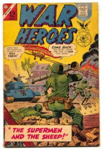 War Heroes #22 1967- Charlton bazooka cover VG