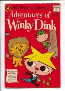 Adventures of Winky Dink #75 1957-Pines-baseb on TV cartoon series-one shot-M...