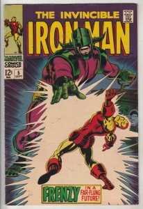 Iron Man #5 (Sep-68) VF/NM High-Grade Iron Man