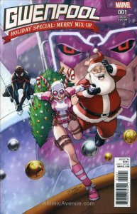Gwenpool Holiday Special: Merry Mix-Up #1A POOR; Marvel | low grade comic - save