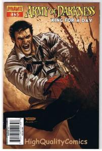 ARMY of DARKNESS King for a Day 13, VF-, Neves , 2007, more AOD in store