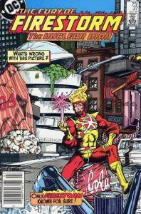 Fury of Firestorm (1982 series) #37, NM- (Stock photo)