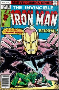 Iron Man #115, 8.0 - 1st John Romita Jr pencils on Iron Man