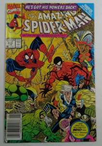 The Amazing Spider-Man #343 Newsstand Edition VF/NM (1991)