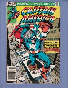 Captain America #262 VG Marvel 1981