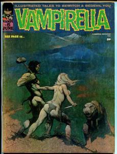 Vampirella #5 1970-Frank Frazetta cover-Nick Cuti-Don Glut-Fanucchio-FN/VF
