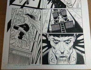 Original Art: Dietrich Smith & Cory Hamscher - Incredible Hercules #127 p.4