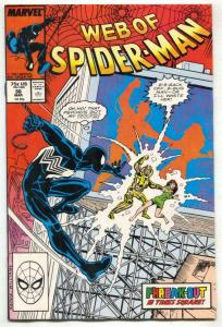 Web Of Spider-Man #36 comic book Marvel 1st TOMBSTONE