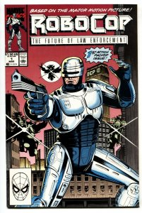 Robocop #1 1990 Marvel Comic book First issue - NM-