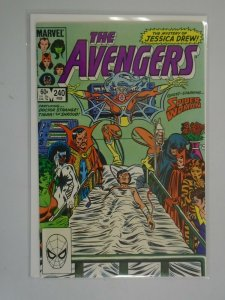 Avengers #240 Direct edition 7.0 FN VF (1984 1st Series)