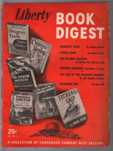 Liberty Book Digest #1 1943-Upton Sinclair-Erle Stanley Gardner-Ox-Bow Incident-