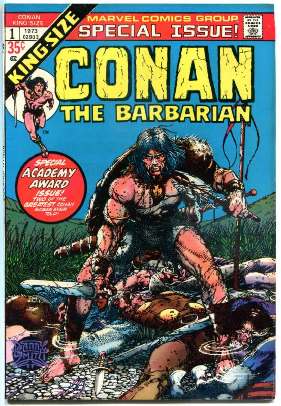 CONAN the BARBARIAN #1 Annual, VF+, Robert Howard, Barry Smith, more in store