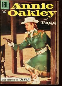 ANNIE OAKLEY AND TAGG #13-WESTERN-HIGH GRADE TV PHOTO VF