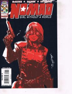Lot Of 2 Comic Books Marvel Nomad #1 and Epic Steel Grip Starkey #2 MS12