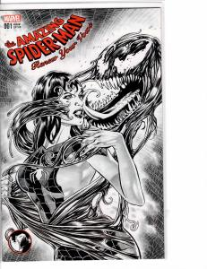 Amazing Spider-man Renew Your Vows (2017) VF (9.4) Sketch Cover