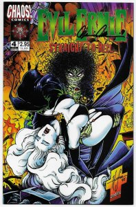 Evil Ernie Straight To Hell #4 Lady Death | Signed by Pulido (Chaos, 1996) NM