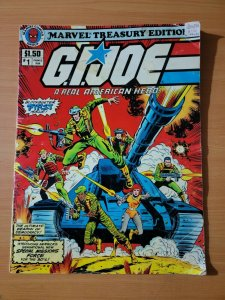 Marvel Treasury Edition #1 G.I.Joe Parkes Run ~ VERY GOOD VG ~ 1982 Marvel