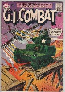 G.I. Combat #112 (Jul-65) FN+ Mid-High-Grade The Haunted Tank