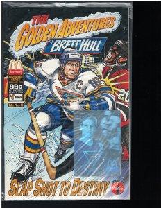 Golden Adventures of Brett Hull #1 (Patrick, 1994)
