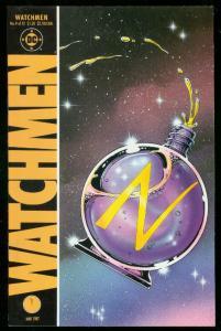 WATCHMEN #9 1987-DAVID GIBBONS-ALAN MOORE-DC COMICS VF